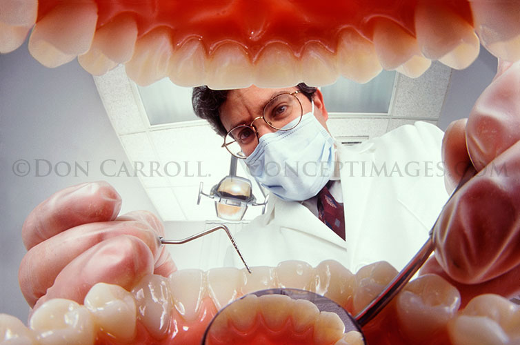 Signed Original Photograph - DENTIST